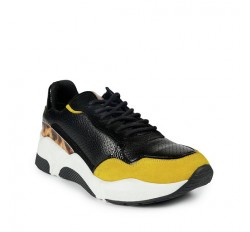 %100 Deri Kadın Sneaker
