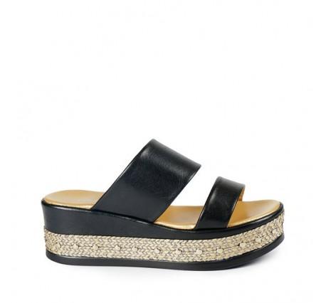 %100 Deri Kadın Sandalet